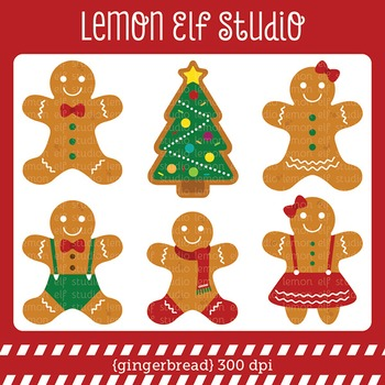 Gingerbread-Digital Clipart (LES.CL51)