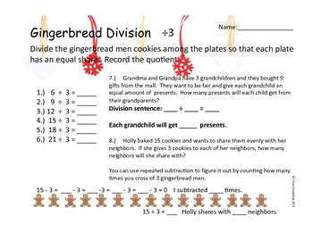 Gingerbread Division