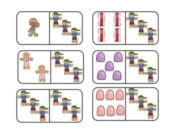 Gingerbread Dominoes