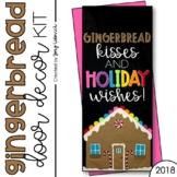Gingerbread: Door Decoration Set (December)