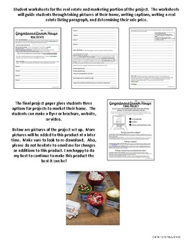 Gingerbread House Budget and Marketing Activity