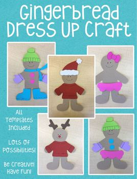 Gingerbread Dress Up Craft