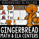 Gingerbread ELA and Math Centers