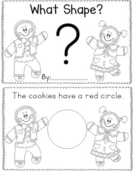 Gingerbread Early Math Readers