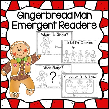 Gingerbread Man Emergent Readers