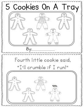 Gingerbread Man Emergent Readers