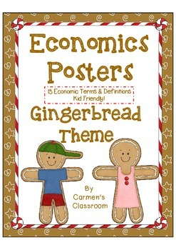 Gingerbread Economics Posters