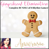 Gingerbread Elimination Rhythm Game - Complete Bundle of 8 games!