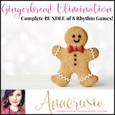 Gingerbread Elimination Rhythm Game - Complete Bundle of 8 games!