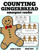Gingerbread Emergent Reader: Gingerbread Counting with One-to-One Correspondence