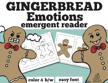 Gingerbread Emergent Readers Bundle