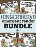 Gingerbread Emergent Readers Bundle
