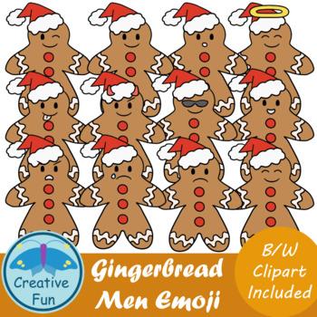 Gingerbread Emoji Clip art