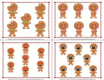 Gingerbread Emoji Math Centers