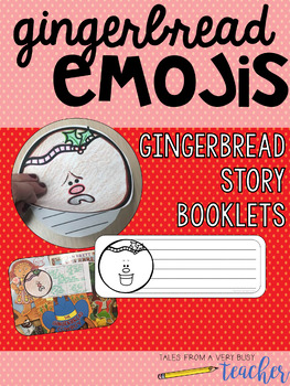 Gingerbread Emoji Writing {Holiday Fun!}