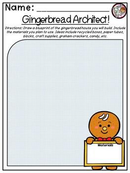 Kindergarten STEM Theme - Gingerbread Engineering