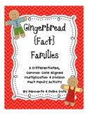 Gingerbread Fact Families-Multiplication/Division-Leveled