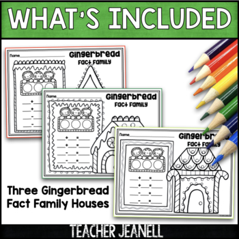 Gingerbread Fact Family