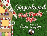 Gingerbread:  Fact Family Style ~ Christmas Math Printables