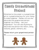 Gingerbread Family Project