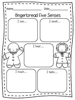 Gingerbread Five Senses