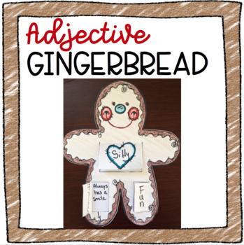 Gingerbread Flap Art: Adjectives & Fact and Opinion