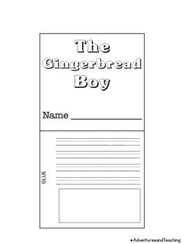 Gingerbread Flipbook Craftivity