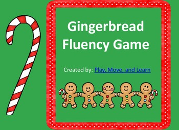 Gingerbread Fluency Game