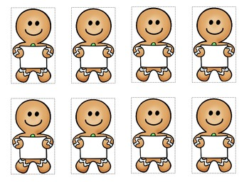 Gingerbread Fluency Game