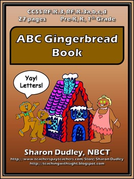 ABC Gingerbread Book