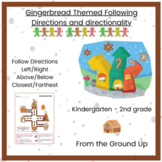Gingerbread Following Directions Positional Words Auditory Processing