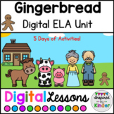 Gingerbread For Google Slides™ | Digital Reading Unit | Di