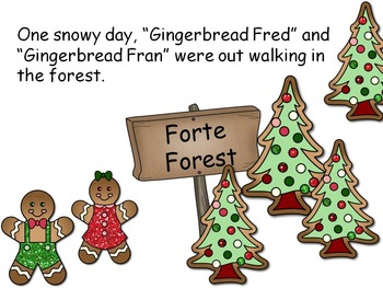 Gingerbread Fred's Musical Adventure - Treble Clef Interactive Game
