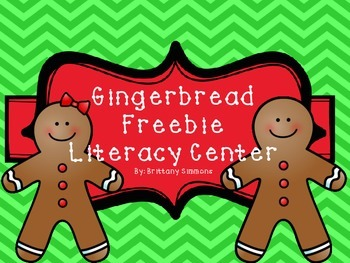Gingerbread Freebie!!!