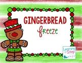 Gingerbread Freeze Dance Movement Activity