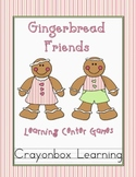 Gingerbread Friend Activity Pack
