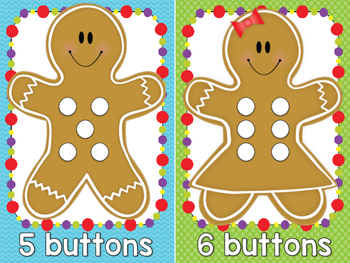 Gingerbread Friend Math Mats