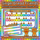 Gingerbread Friends Attendance/Student Check-In Gingerbrea