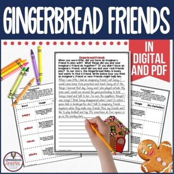 Celebrate the Holidays with Gingerbread Fun   Comprehension