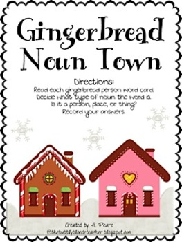 Gingerbread Friends Literacy Centers Only