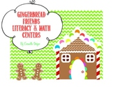 Gingerbread Friends Math & Literacy Centers Part 1
