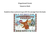 Gingerbread Friends Sequence Book