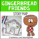 Gingerbread Friends Story Map
