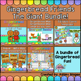 Gingerbread Friends Unit with Emergent Reader, Math Games, and MORE!