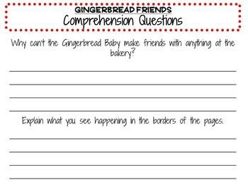 Gingerbread Friends by Jan Brett:  A Complete Literature Study!