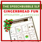 Gingerbread Fun: Articulation and Language Trifecta