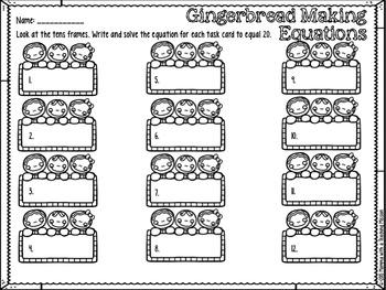 Gingerbread Fun Centers