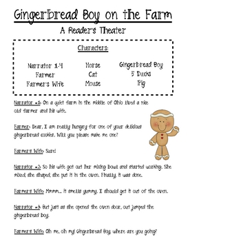 Gingerbread Fun! Literacy and Math Activities