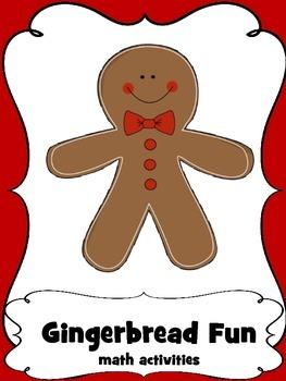 Gingerbread Fun Math Activites for Preschool