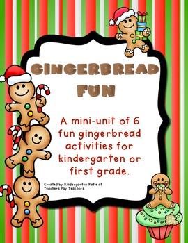Gingerbread Fun Mini-Unit